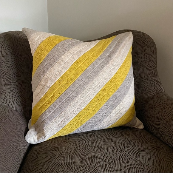 Crate and Barrel Pillow Cover